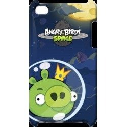 Чехол-накладка для iPod Touch Gear4 Angry Birds Space Soft Touch Family (TCAS406G)