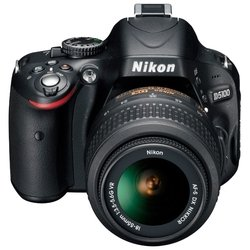 Nikon D5100 Kit (black 16,2Mpix 18-55VR 3 1080p SD Li-Ion, ����� � ����������)