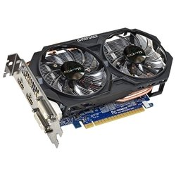 GIGABYTE GeForce GTX 750 Ti 1033Mhz PCI-E 3.0 2048Mb 5400Mhz 128 bit 2xDVI 2xHDMI HDCP (GV-N75TOC-2GI) (Retail)