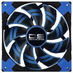 Кулер Aerocool 12cm Dead Silence Blue Edition (синяя подсветка)
