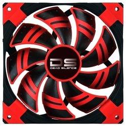 Кулер Aerocool 12cm Dead Silence Red Edition (красная подсветка)