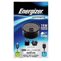 Сетевое зарядное устройство USB (Energizer AC2UUNUMC2)