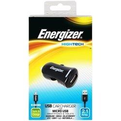 Автомобильное зарядное устройство USB + кабель micro USB (Energizer DC1UHMC2)