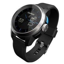 Умные часы COOKOO Watch (CKW-SK002-01) (черные с черным ремешком)