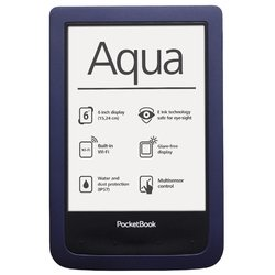 ��������� pocketbook aqua (pb640-b-ru) (�����-�����) :::