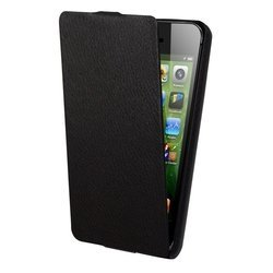 чехол-флип для apple iphone 5, 5s (lazarr protective case slim) (черный)