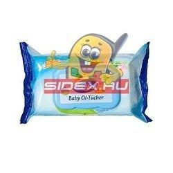 Детские влажные салфетки (Bubchen промасленные 12040560) (запасной блок 72 шт)