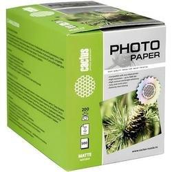 Фотобумага матовая 10х15 (500 листов) (Cactus CS-MA6200500)
