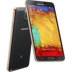Samsung Galaxy Note 3 SM-N9005 32Gb (черный/золото) :::