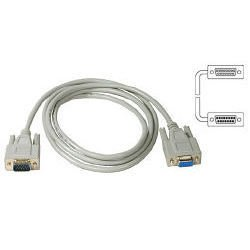 Кабель-удлинитель VGA HD15 M-VGA HD15 F 1.8м (Buro CAB015S-06) (серый)