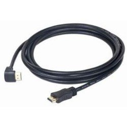 Кабель HDMI-HDMI, угловой, 1.8м (Gembird CC-HDMI490-10) (черный)