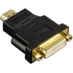 Адаптер HDMI (m) - DVI/D (f) (Hama H-34036) (черный)