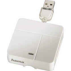 Кардридер USB 2.0 (Hama H-94125) (белый)