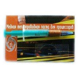 Термопаста STP-3, медная, в шприце, 3 гр