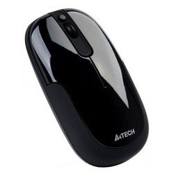 мышь a4 tech d-110 black holeless wired usb
