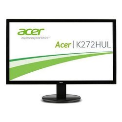 "монитор acer 27\\\"" k272hulbmiidp glossy-black ah- va led 6ms 16:9 dvi hdmi m/m 100m:1 350cd displayport"