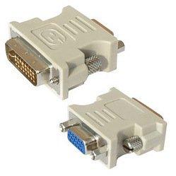 Переходник Buro DVI-I-PLUG - VGA 15(F)