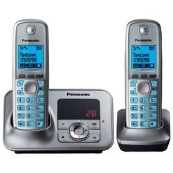 Panasonic KX-TG6622 (серый металлик)
