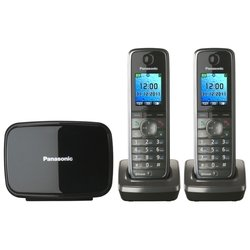 Panasonic KX-TG8612RUM (серый металлик)