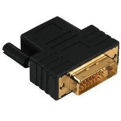 Адаптер HDMI (f) - DVI/D (m), позолоченные контакты (Hama H-79071) (черный)