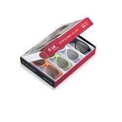 Очки 3D 4 шт в комплекте (LG AG-F315) (разноцветные)