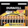 Алкалиновая батарейка AAA (Duracell Basic LR03-18BL) (18 шт) - Батарейка, аккумуляторБатарейки и аккумуляторы<br>С батарейкой Duracell Ваше цифровое устройство проработает дольше и не подведет в самый ответственный момент.<br>