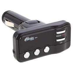 Автомобильный FM-модулятор (Ritmix FMT-A911) (черный)