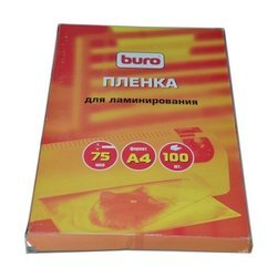 Пленка для ламинирования А4 (100 шт) (Buro BU-4LP75)