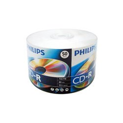 Диск CD-R Philips 700Mb 48-52x (50 шт) (CR7D5SY50/97) Bulk
