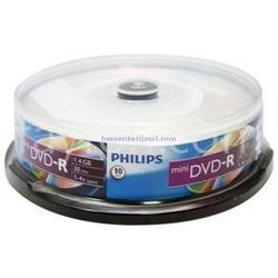 ���� dvd-r philips 4.7gb 16x cake box (10 ��) (dm4s6b10f/97)