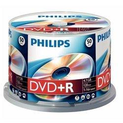 Диск DVD-R Philips 4.7Gb 16x (50шт) (DM4S6U50F/97) Bulk