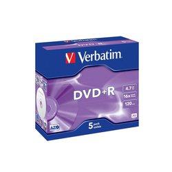 ���� DVD+R Verbatim 4.7Gb 16x DataLife+ (5��) (43497)