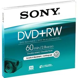 Диск DVD+RW Sony 2.8Gb Slim Case (1 шт) (DPW60A2)