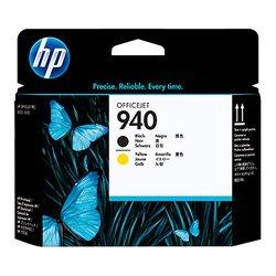 Печатающие головки для HP Officejet Pro 8000, 8500, 8500a (C4900A №940) (черный, желтый)