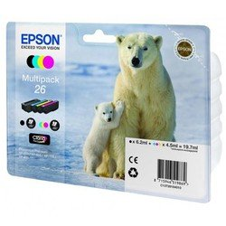 ����� ���������� ��� Epson Expression Premium XP-600, XP-605, XP-700, XP-710, XP-800 (C13T26164010 �26) (������, �������, ������, ���������)