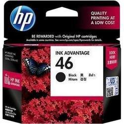 Картридж для HP Deskjet Ink Advantage 2020hc, 2520hc (CZ637AE №46) (черный)