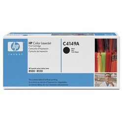 тонер-картридж для hp color laserjet 8500, 8550 (c4149a) (черный)