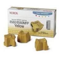 Чернила для Xerox Phaser 8560, 8560MFP (108R00766) (желтый) (3 шт)