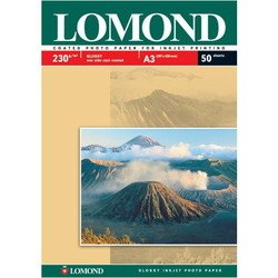 Фотобумага глянцевая A3 (50 листов) (Lomond 0102025)