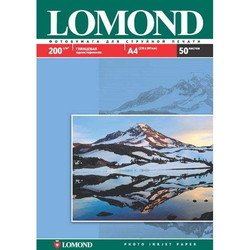 Фотобумага глянцевая A4 (50 листов) (Lomond 0102020)