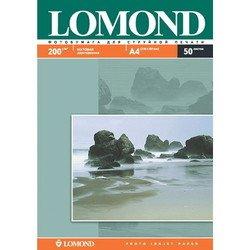 Фотобумага матовая A4 (50 листов) (Lomond 0102033)