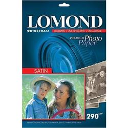 Фотобумага сатиновая A4 (20 листов) (Lomond 1108200)
