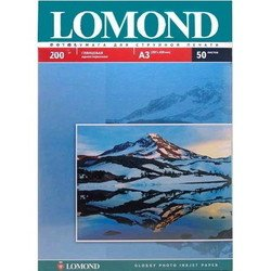 Фотобумага глянцевая A3 (50 листов) (Lomond 0102024)