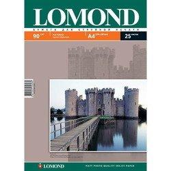 Фотобумага матовая A4 (25 листов) (Lomond 0102029)