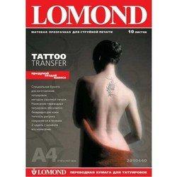 Трансферная бумага A4 (10 листов) (Lomond 2010440)