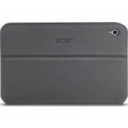 чехол-книжка для acer iconia tab w3-810 (np.bag11.00a) (темно-серый)