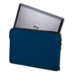 "���� ����� dell neoprene blue sleeve case for 15.6\\"" notebooks"