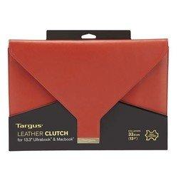 """Универсальный кожаный чехол для ноутбука 13.3"""" (Targus TES607EU-50) (красный)"""