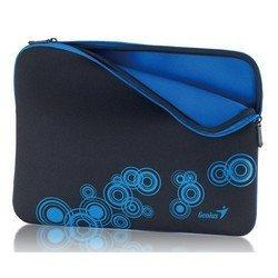 """Универсальный чехол для ноутбука 13-14"""" (Genius GS-1401 31280049101) (черно-синий)"""