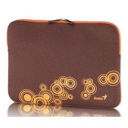 """Универсальный чехол для ноутбука 13-14"""" (Genius GS-1401 31280049103) (коричнево-оранжевый)"""